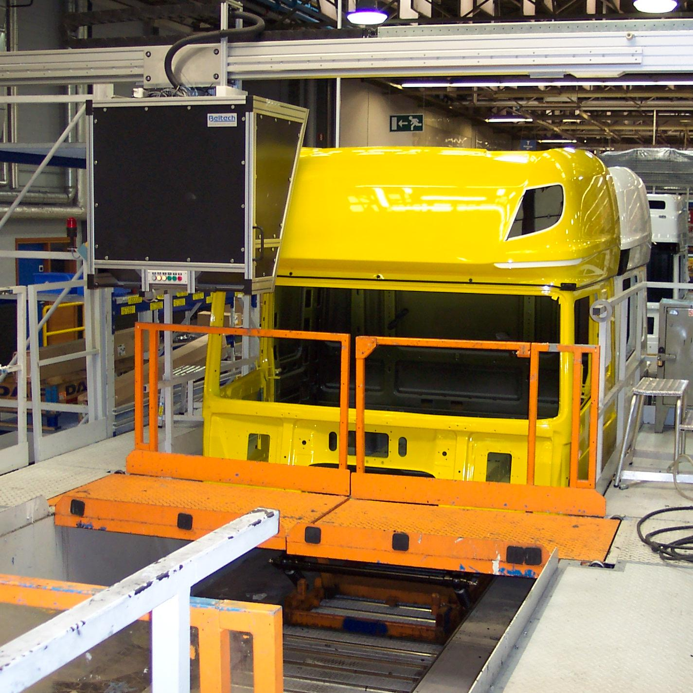 DAF, automotive inspection