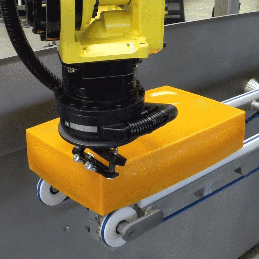 Robotic Cheese Slicer to reduce waste