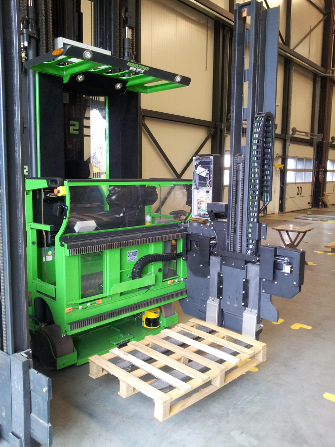 AGV – Pallet detection, logistics